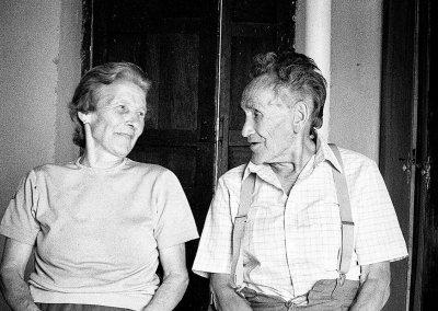 Herminia y Amador, 1990