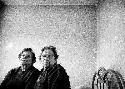 Sofía y Mercedes, 1986