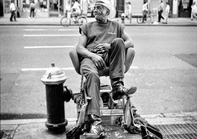 Limpiabotas. NYC, 1996